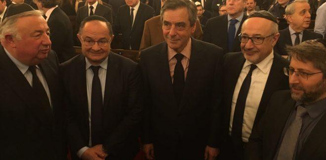 Ariel Goldmann à la cérémonie d'hommage aux victimes de Toulouse