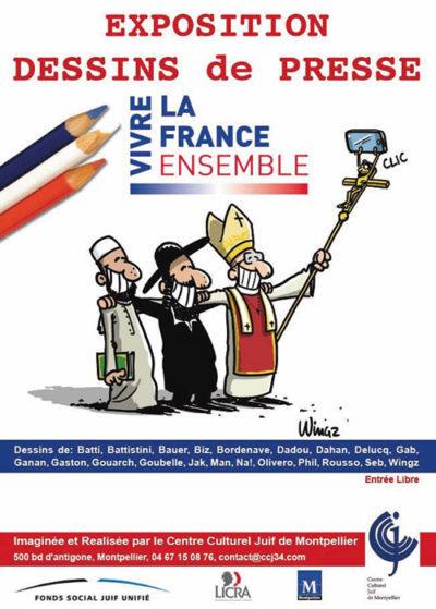 Exposition Vivre la France ensemble