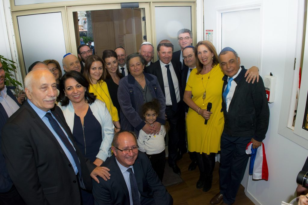 Inauguration du local du FSJU à Nice