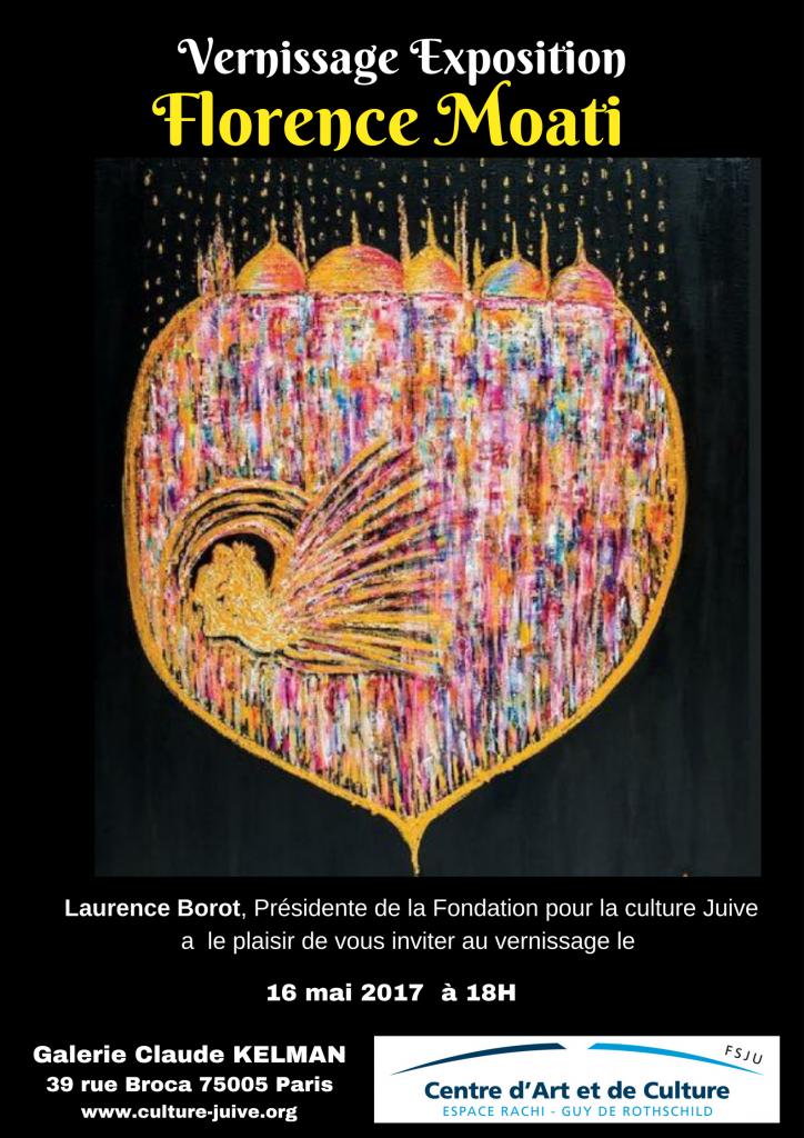 Vernissage de l'exposition de Florence Moati