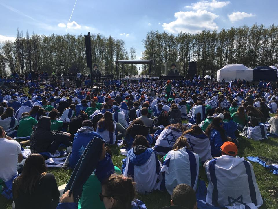L'Action Jeunesse à la Marche des Vivants 2017