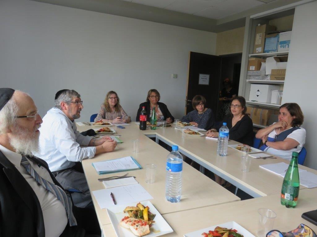 Les responsables des écoles juives réunis au FSJU