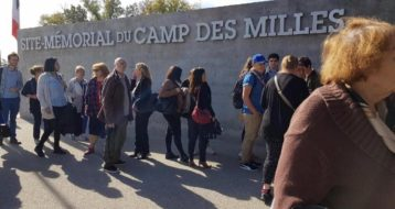 Visite intergénérationnelle du Camp des Milles