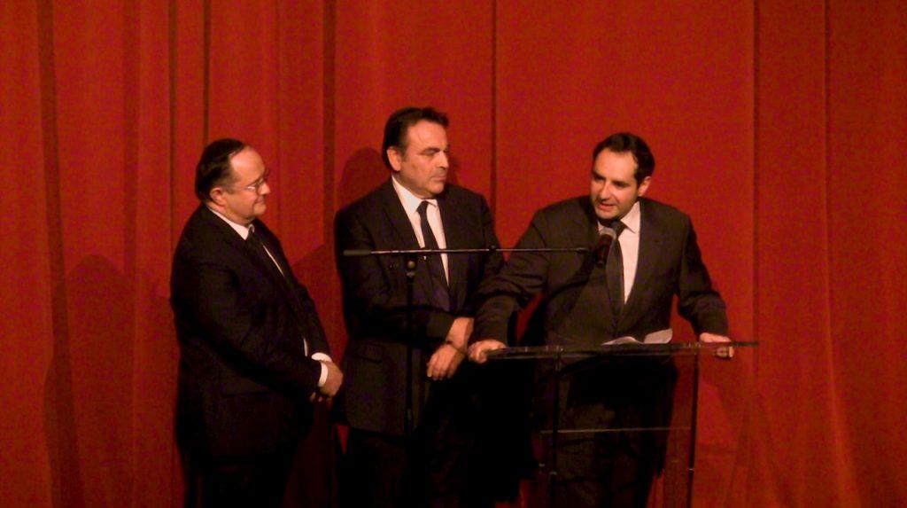 Dany Boon au Gala des communautés juives du 92
