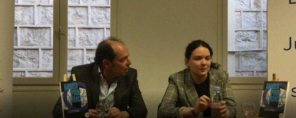 Présentation de l'ouvrage «Kaddish pour la France?» - Conférence Juliette et thierry Hochberg