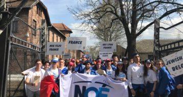 L'Action Jeunesse à la Marche des Vivants