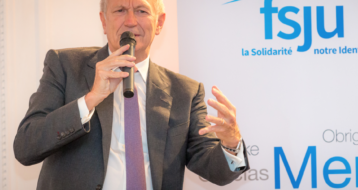 Jean-Paul Agon au Cercle Abravanel du FSJU