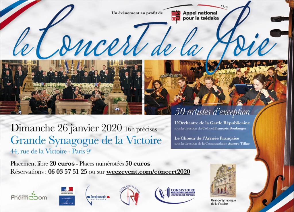 Concert de la Joie 2020