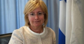 S.E Talya Lador-Fresher à l'ambassade d'Israël à Paris