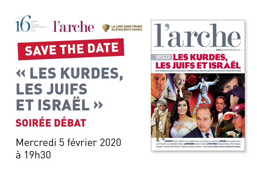 soirée debat Kurdes, Juifs et Israel