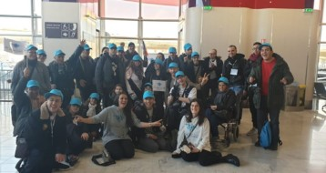 Voyage en Israel pour 19 jeunes en situation de handicap