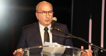 Soly Levy lors du gala de collecte de Lyon