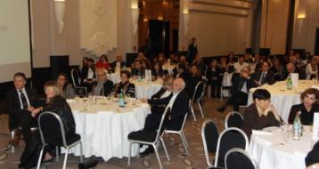 Un public ravi pendant le gala de collecte du Fonds Social Juif Unifié Région Rhônes Alpes à Lyon !