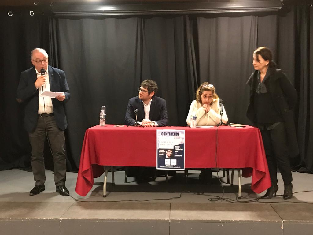 Rudy Reichstadt avec le FSJU région PACA à Marseille