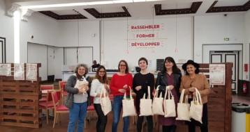 Le Réseau Ezra et Lev Tov participe à la collecte de produits d'hygiene féminine organisée par la Mairie de Paris
