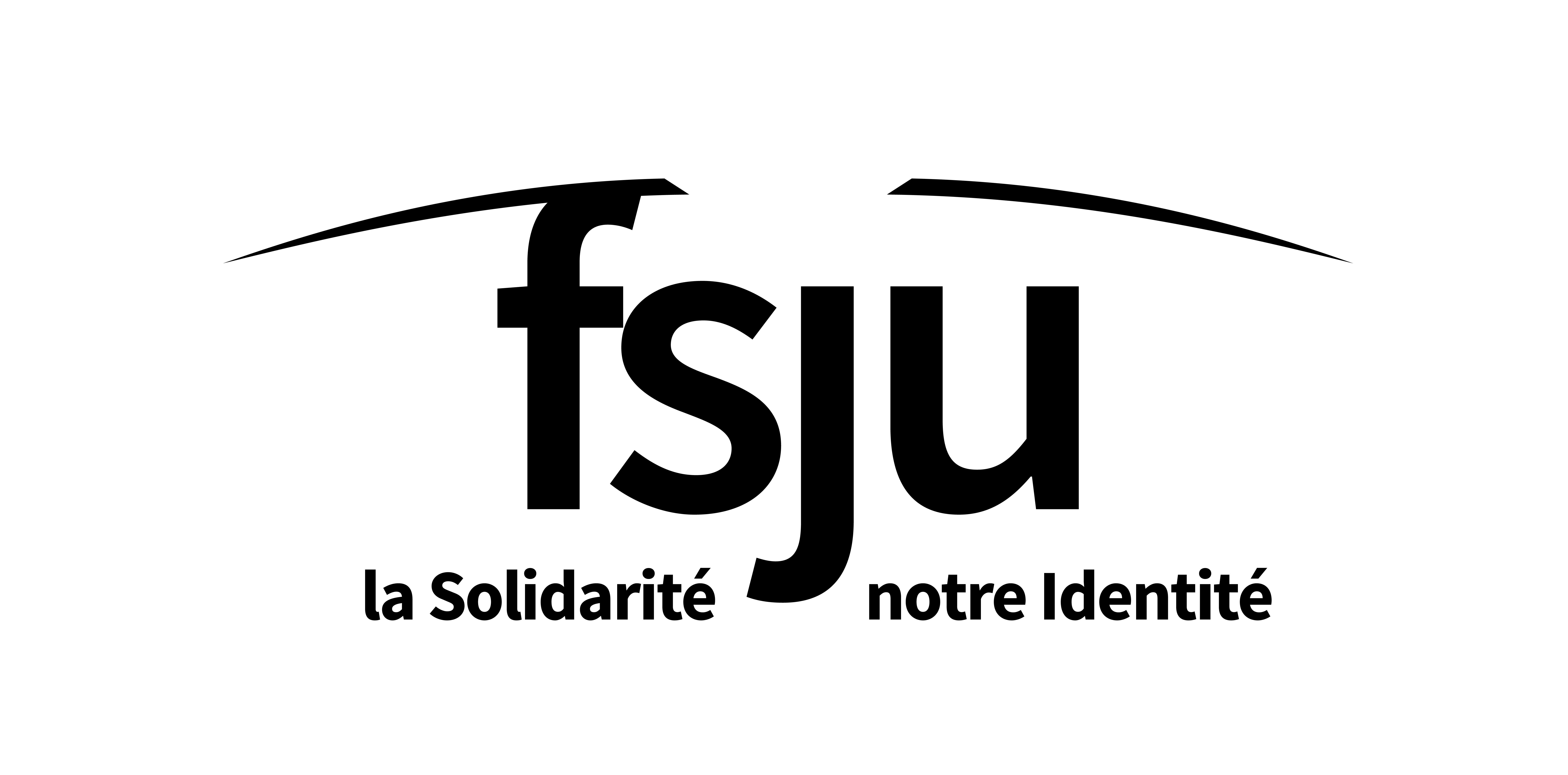 Logo Fonds Social Juif Unifié Noir et blanc