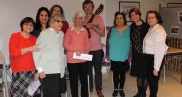 """Gilda Thomas animait atelier """"Chorale"""" pour plusieurs personnes âgées ravies"""