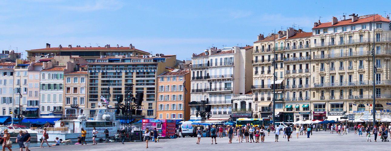 La délégation du FSJU à Marseille