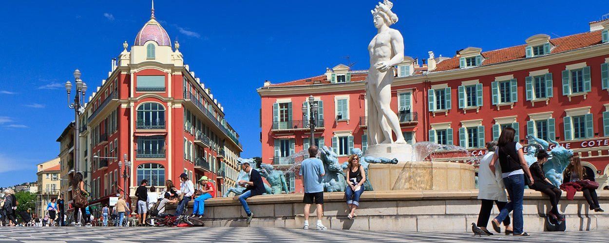 La délégation du FSJU à Nice